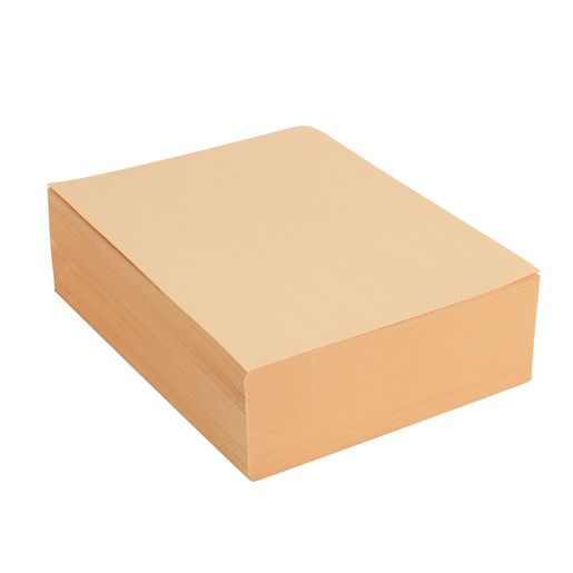 "Manila Paper with Storage Bin Container, 500 Sheets, 9"" x 12"""