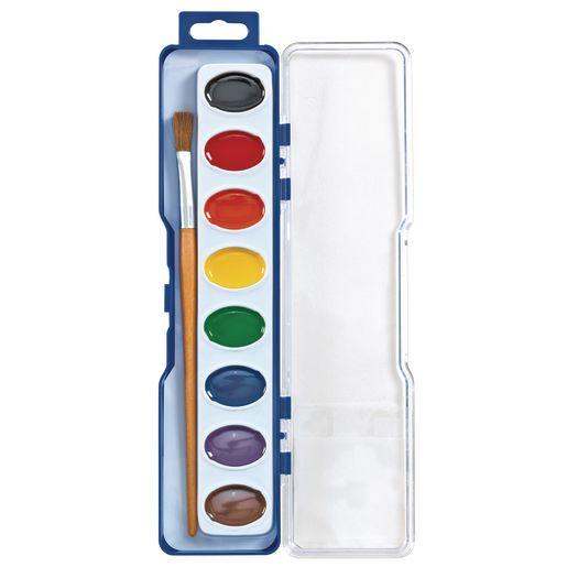 24 Colorations® Regular Best Value Watercolor Paints, 8 Colors
