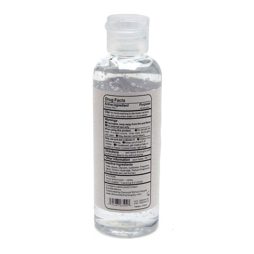 Hand Sanitizer Gel 3.4oz