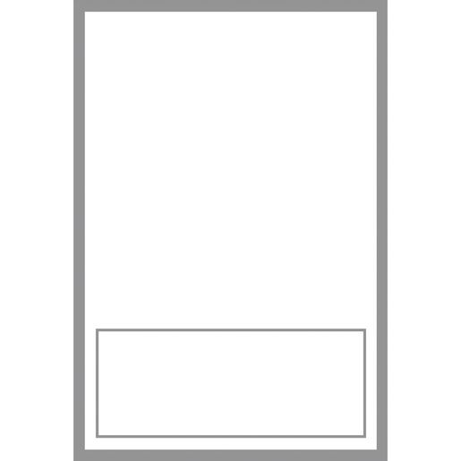 Durable Book And Binder Holder  Large Removable Labels - 12 labels