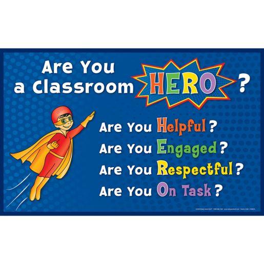 Super Classroom Hero Posters