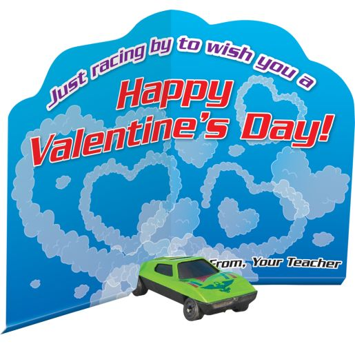 Racing By Valentine Cards And Cars