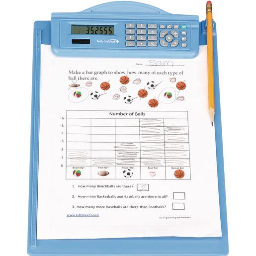 Classroom Clipboard With Calculator