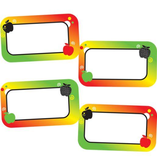 Apple Binder Clip Stickers