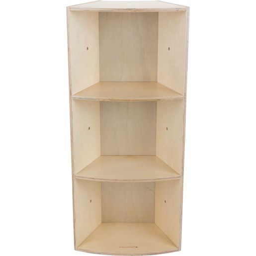 Curved Tall Bookcase - 1 bookcase