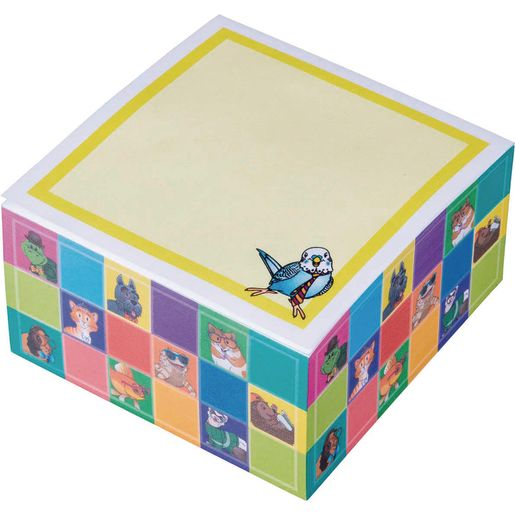 Dressed Pets - Sticky Note Cube