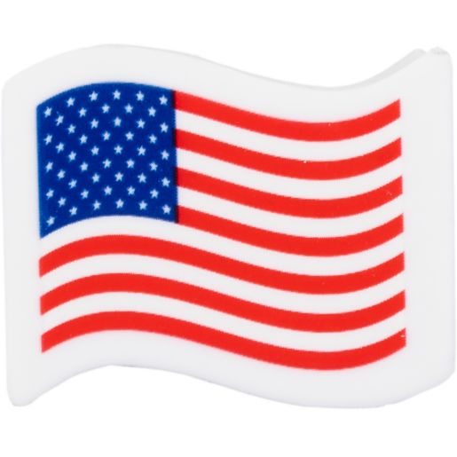 American Flag Mini Erasers - Set Of 36