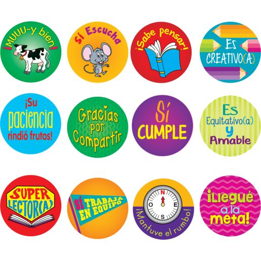 Calcoman�as de recompensa (Spanish Reward Stickers)