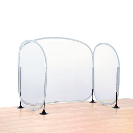 Excellerations Fold-Up Portable Desktop Barrier