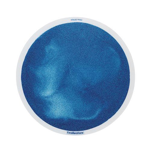 Excellerations® Glitter Circle Liquid Tile - Blue
