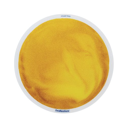 Excellerations® Glitter Circle Liquid Tile - Gold