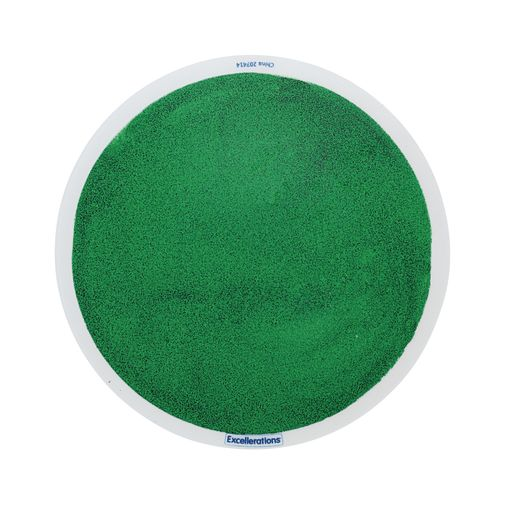 Excellerations® Glitter Circle Liquid Tile - Green