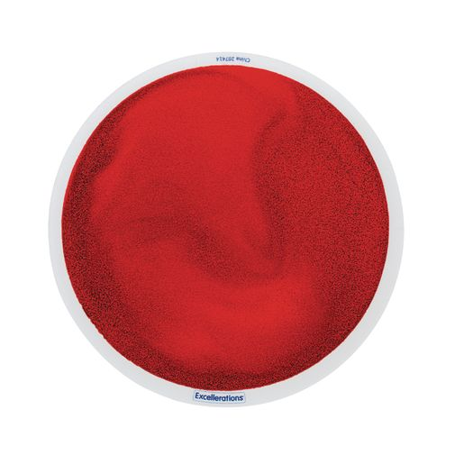 Excellerations® Glitter Circle Liquid Tile - Red