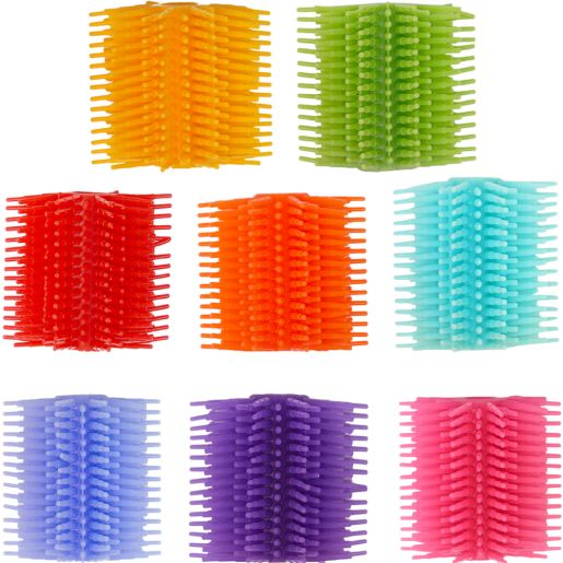 Spike Silicone Fidget Grip 8-Pack