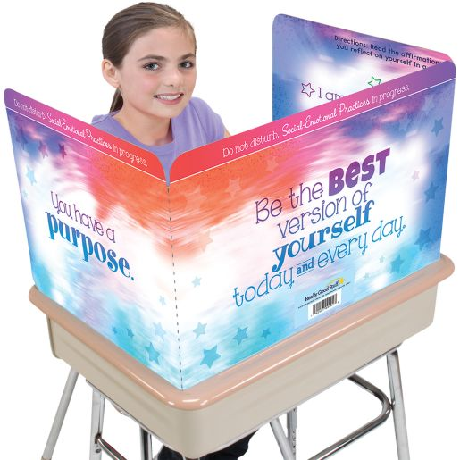 Social-Emotional Large Privacy Shields™ - Set Of 4