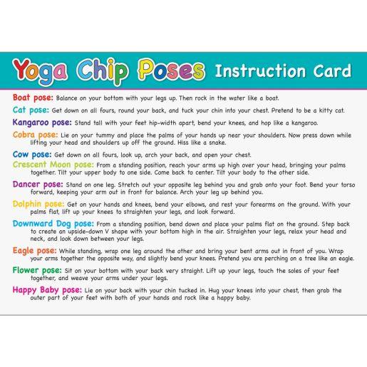 Yoga Chips - Set of 24