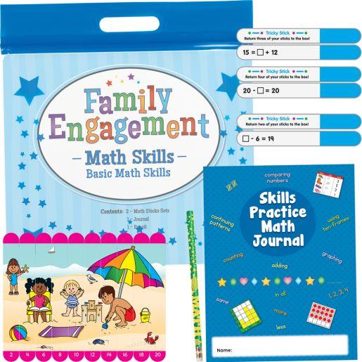 Family Engagement Math Skills - Basic Math Skills