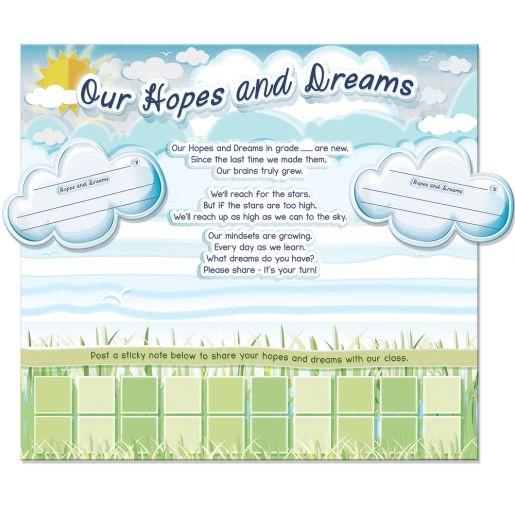 Hopes and Dreams Bulletin Board Kit