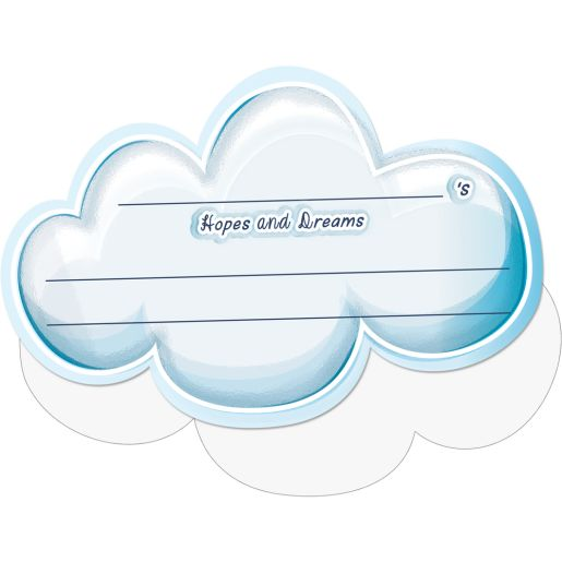 Hopes and Dreams Clouds - 100 Pack