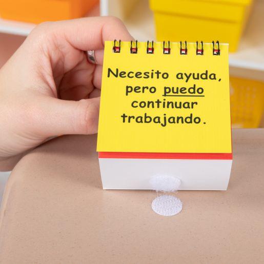 Spanish I Need Help! Mini Flip Chart Set