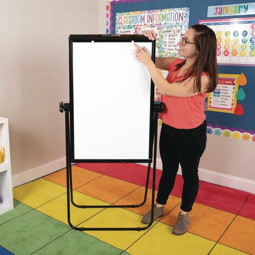 """Portable Magnetic Dry Erase Easel 35""""x 2"""
