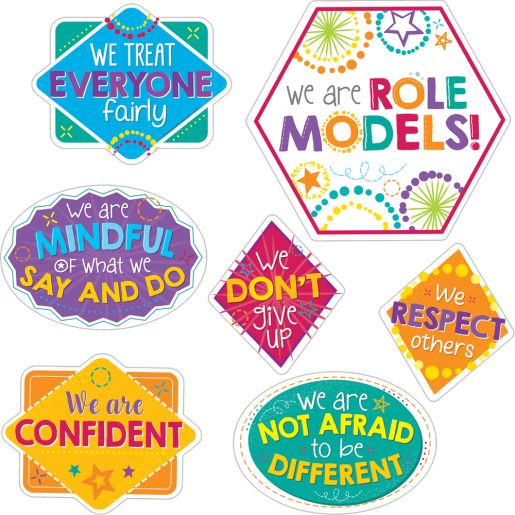 EZ Stick Be A Role Model Wall Decals