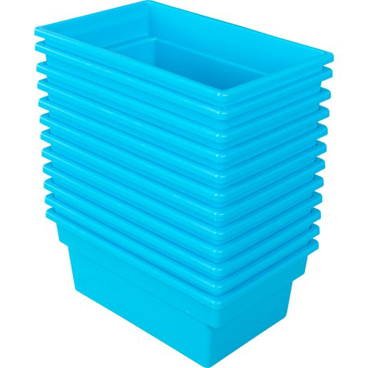 All-Purpose Bin - Set of 12 Blue Neon
