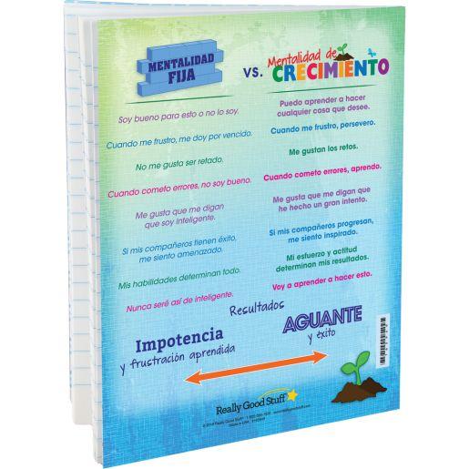 Spanish Growth Mindset Journals - Set of 12