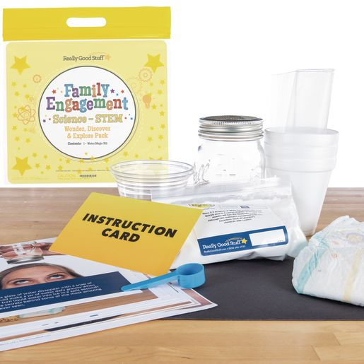 Family Engagement Science/STEM - Wonder, Discover and Explore Pack: Water Magic - Second Grade
