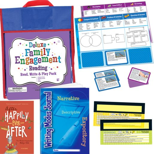 Deluxe Family Engagement Reading - Read, Write and Play Pack - Fifth Grade