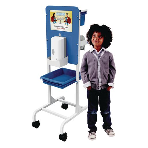 Single Student Hand Sanitizer Station- Premium Model