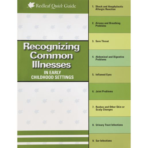Recognizing Common Illnesses in Early Childhood Settings Book