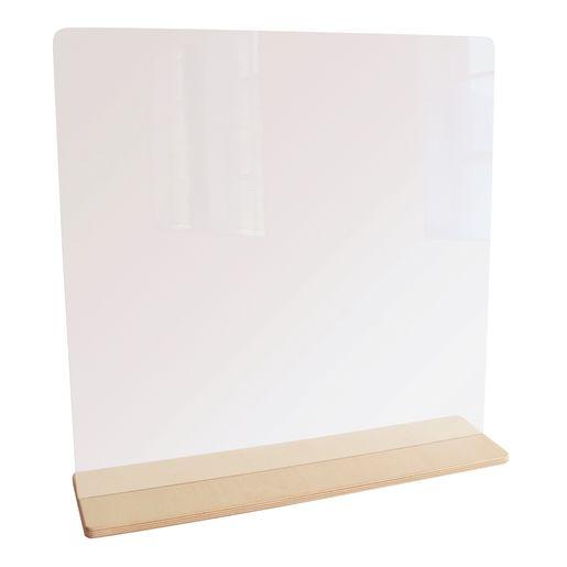 "Tabletop Sanitary Divider, 23""W"