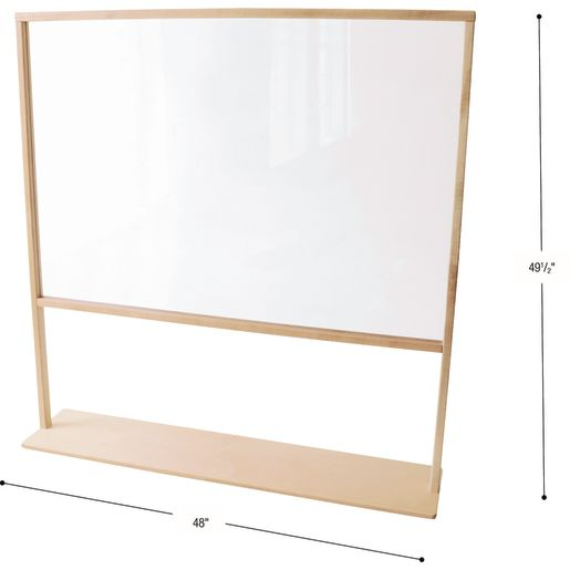 "See Through Room Divider, 48""W"