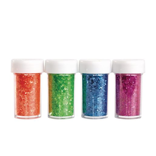 Colorations Neon Glitter - Set of 4_0