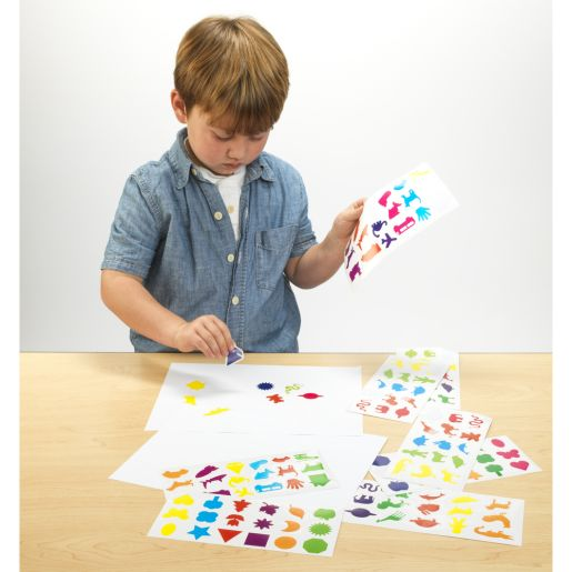 Colorations Fun Stickers, 12 Sheets, 201 Total Stickers_1