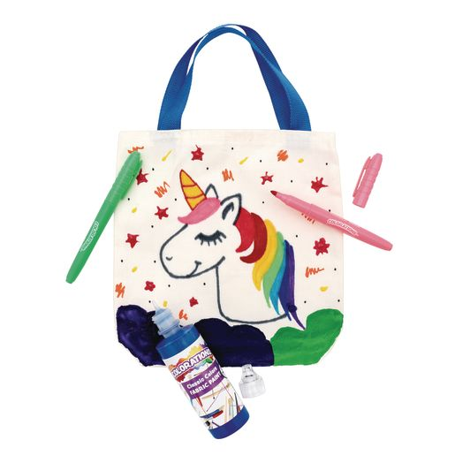 Colorations Decorate Your Own Canvas Tote Bag_2