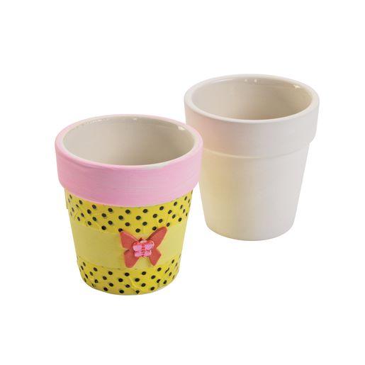 Colorations DYO Ceramic Flower Pot_0