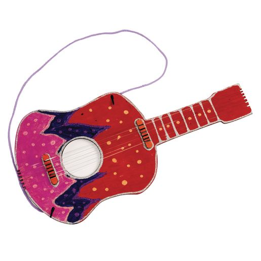 Colorations DYO Wooden Guitar -1 Piece_0