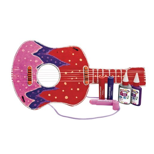 Colorations DYO Wooden Guitar -1 Piece_2