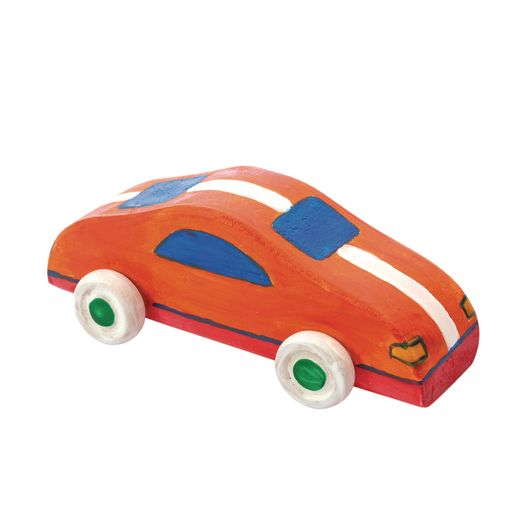Colorations DYO Wood Car, 1 Piece