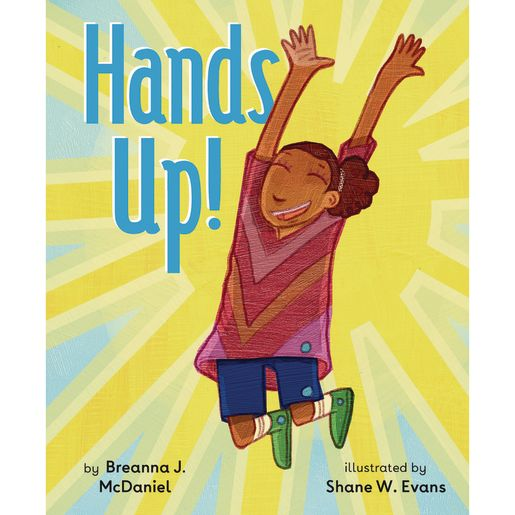 Image of Hands Up! Hardcover Book