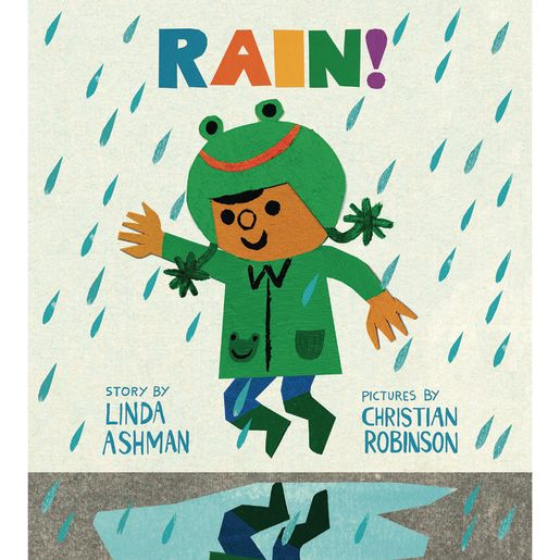 Image of RAIN! BOARD BOOK