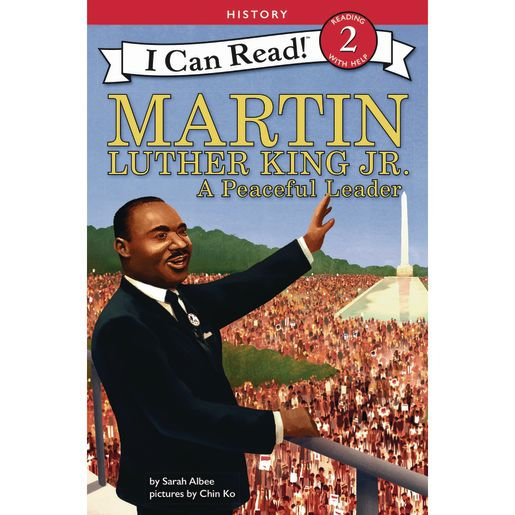 Image of Martin Luther King Jr.: A Peaceful Leader Paperback