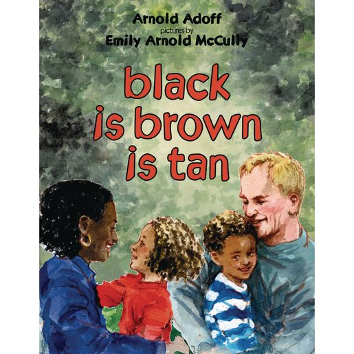 Image of Black is Brown is Tan Paperback Book