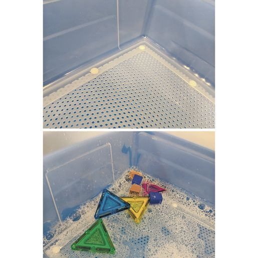 Manipulatives Cleaning Tub - Mesh-Bottomed Tub Only