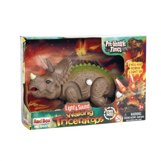 Light and Sound Walking Triceratops