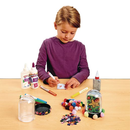 Colorations Create Your Own Snowglobe - Set of 2_3