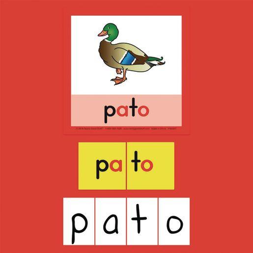 Construccion de Palabras, Tapetes, Tarjetas y Letras