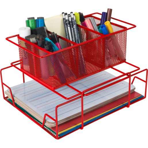 Group Materials Caddy - Red